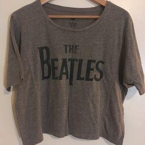 The Beatles Crop Top